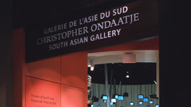 CHRISTOPHER ONDAATJE SOUTH ASIAN GALLERY
